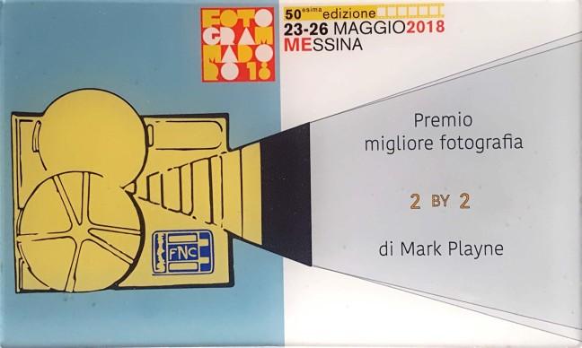 Targa - Premio Migliore Fotografia - 2 by 2