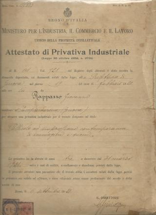 Immagine brevetto 195883 FATTO BENE
